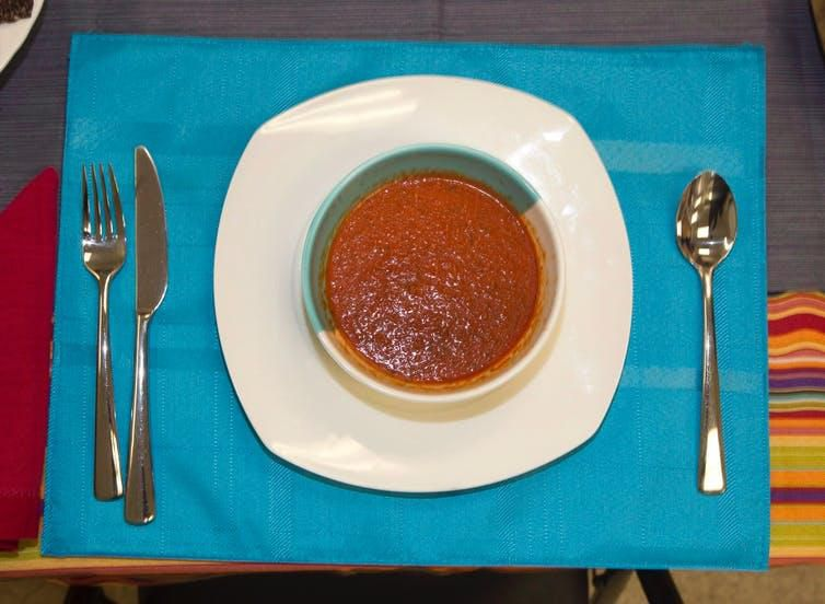 Roasted Red Tomato Basil Soup