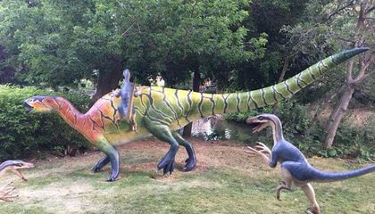 Three Dinosaur Replicas, Stolen From a Utah Park, Have Been Found