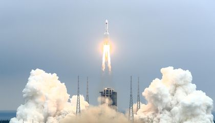 China Launches First Module of New Space Station Into Orbit
