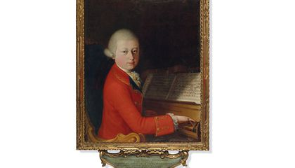 Rare Portrait of Teenage Mozart Heads to Auction
