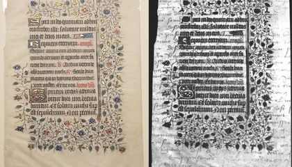 College Sophomores Discover Hidden Text in Medieval Manuscript