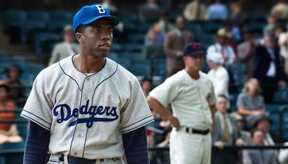 Q+A with Chadwick Boseman, Star of New Jackie Robinson Biopic, '42′