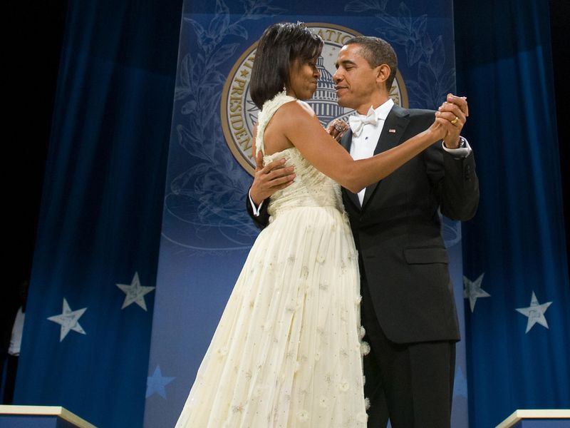 michelle obama s inaugural ball dress comes to the smithsonian at