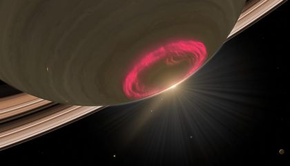 Saturn's Auroras Could Help Explain the Weird Amounts of Heat in Its Atmosphere