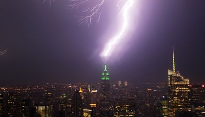 Future Buildings Could Use Lasers to Fight Off Lightning