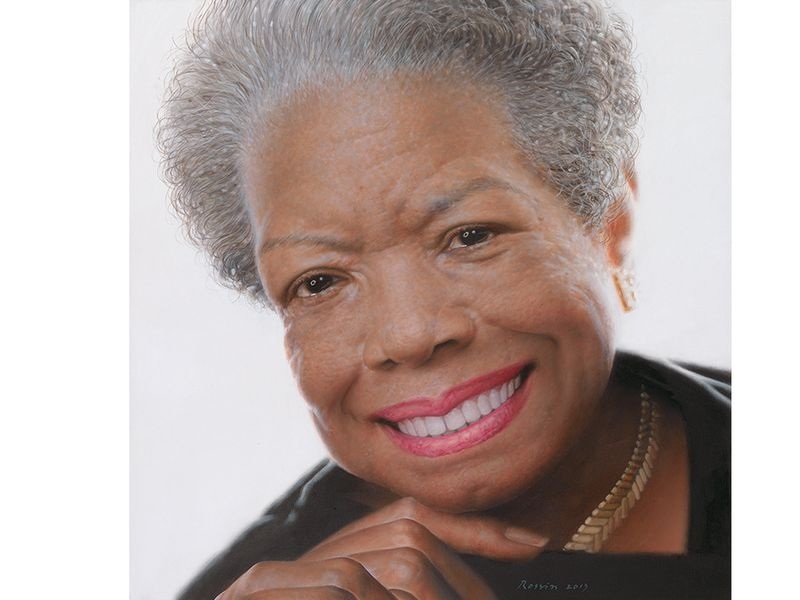 growing up a angelou arts culture smithsonian  a angelou npg white border jpg ""