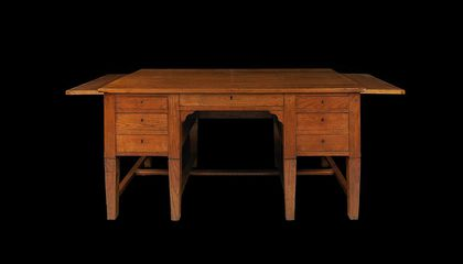 From This Desk, 100 Years Ago, U.S. Operations in World War I Were Conceived