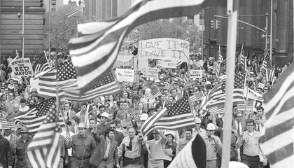 The 'Hard Hat Riot' of 1970 Pitted Construction Workers Against Anti-War Protesters