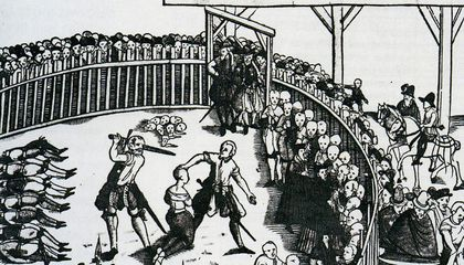 Execution Ballads Once Spread the News of Punishment to the Public