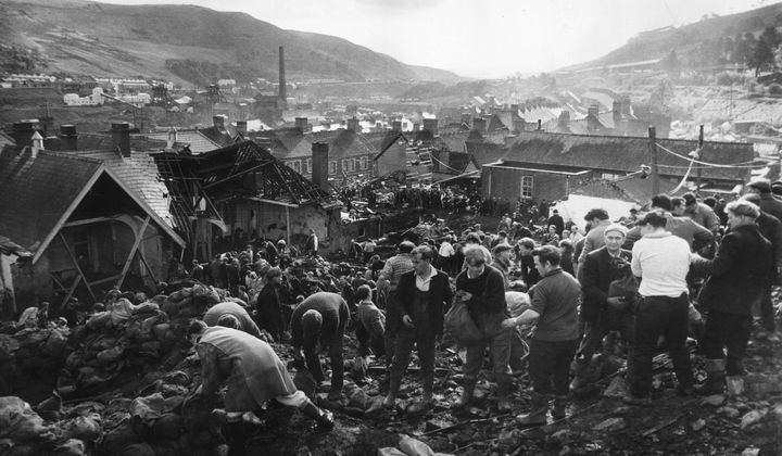 The True Story of 'The Crown' Aberfan Disaster