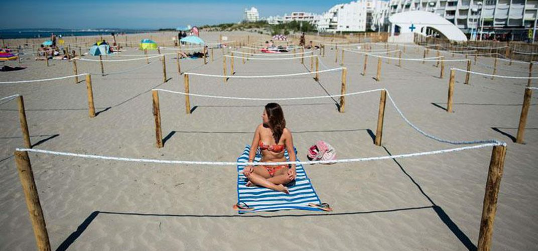 Caption: Five Safety Measures Beaches Are Taking to Minimize the Spread of COVID-19