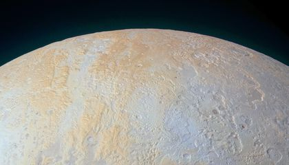 Pluto's North Pole Is Streaked With Canyons