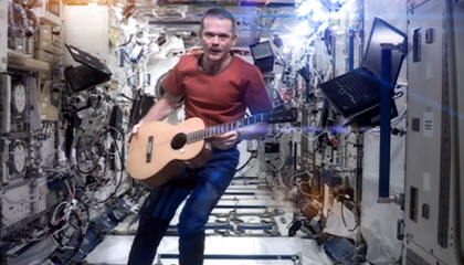 Chris Hadfield's Space Oddity
