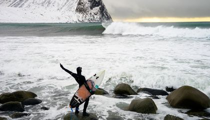 Meet the Insane Surfers Who Travel to the Arctic Ocean to Catch a Wave