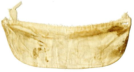 Dr. Leale's bloodstained cuff
