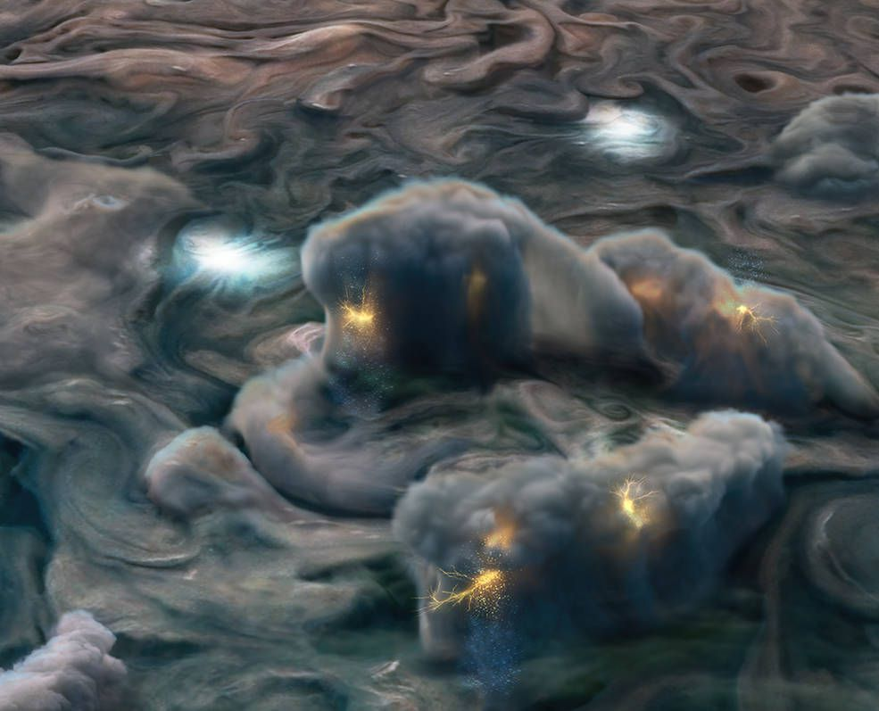 The Forecast on Jupiter Is Cloudy With a Chance of 'Mushballs'
