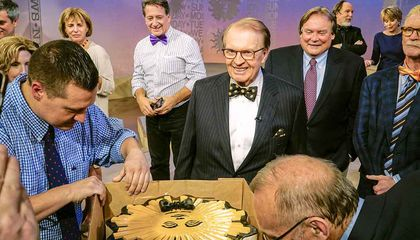 Charles Osgood's Love Affair With the Bow Tie Began With a Dire Warning About Clip-Ons