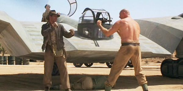 The original Flying Wing fight from 1981's <em>Raiders.</em>