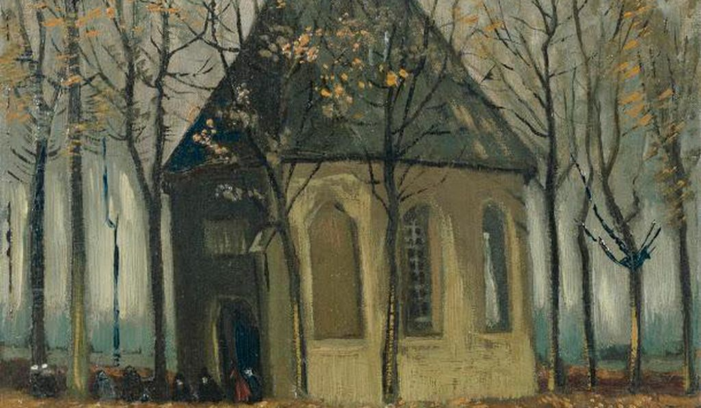 Congregation Leaving the Reformed Church in Nuenen, 1884