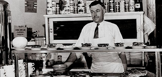 "Louis DeHatre ran a St. Louis diner that attempted to sate the young ""Slim"" Lindbergh's hearty appetite."