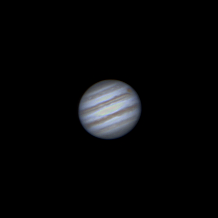 Jupiter Near Opposition