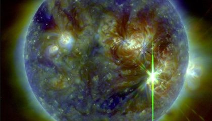 NASA Captures Strongest Solar Flare in a Decade