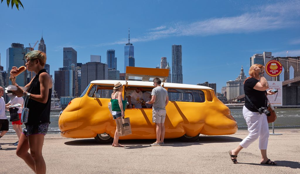 Erwin Wurm, <em>Hot Dog Bus, 2018</em>