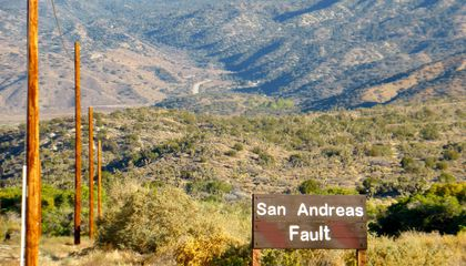 Land Around the Infamous San Andreas Fault Is on the Move