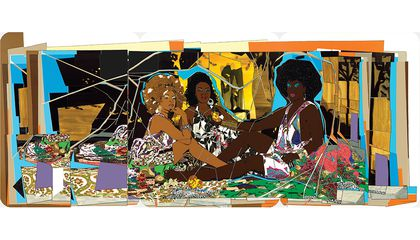 How Mickalene Thomas Is Ushering In A New Wave Of