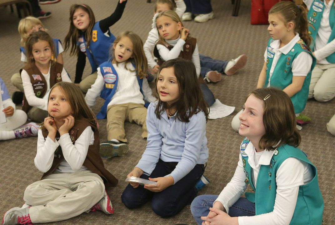 "Girl Scouts try ""digital cookies"" to increase membership"