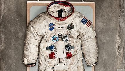 Neil Armstrong spacesuit