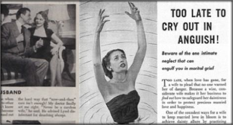 Lysol S Vintage Ads Subtly Pushed Women To Use Its