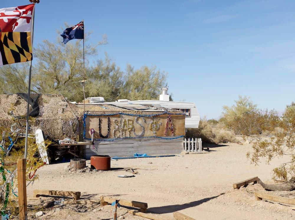 Inside Slab City, a Squatters\' Paradise in Southern California ...