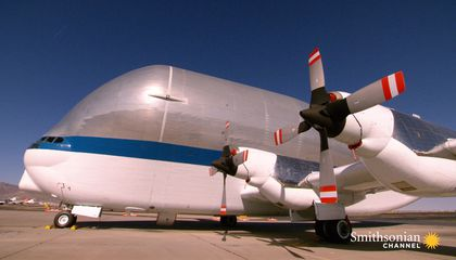 NASA's Unusual Giant Air Cargo Transport Plane