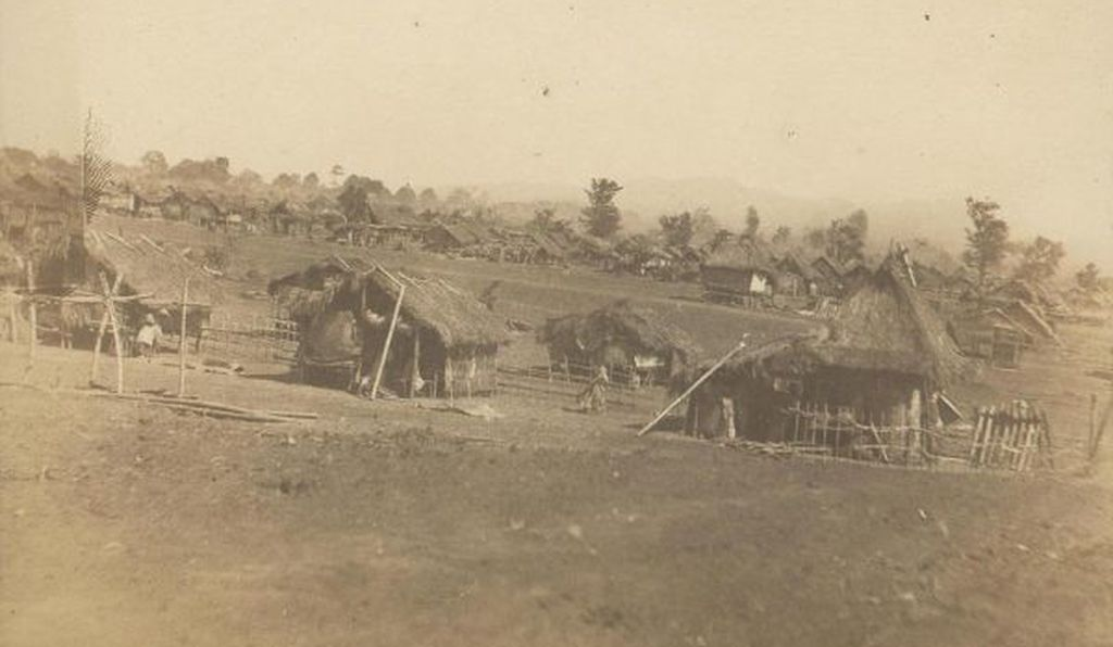 Tanauan reconcentrado camp, Batangas, the Philippines, circa 1901