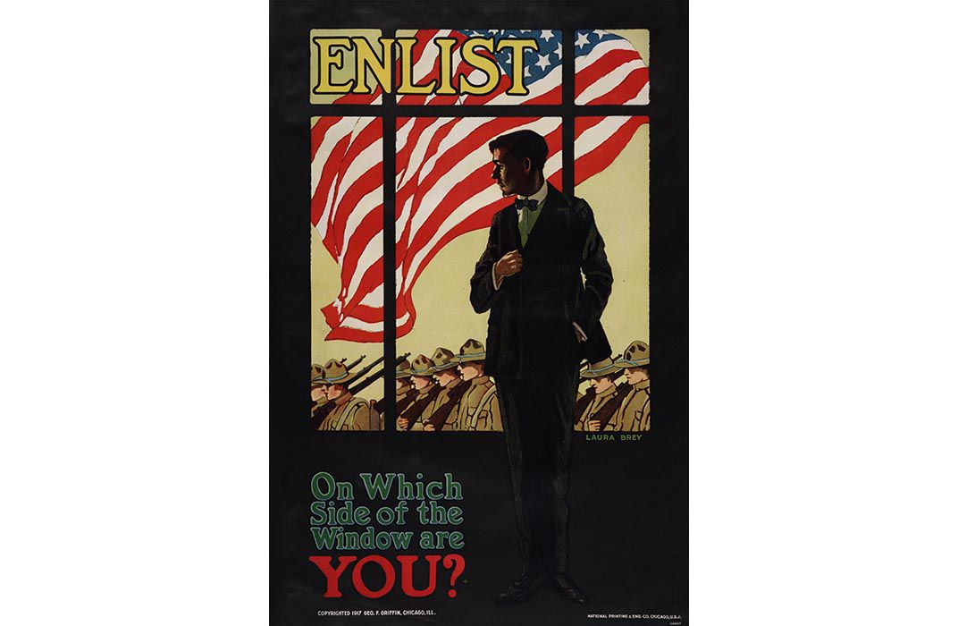 Posters Met Letter : The posters that sold world war i to the american public history
