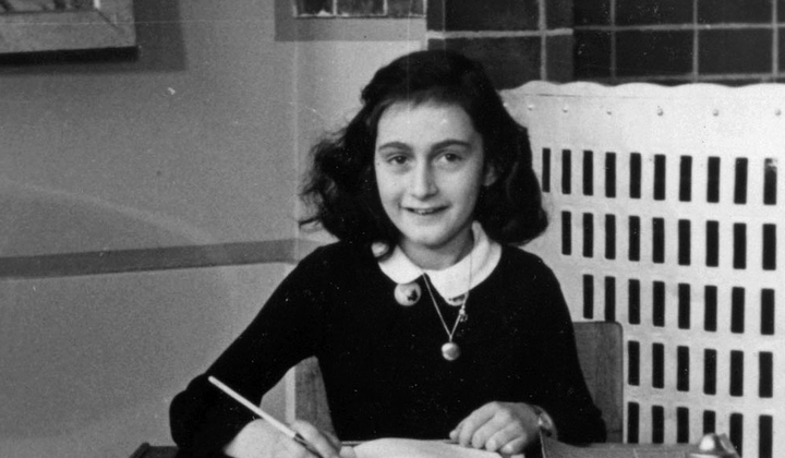 Two Hidden Pages of Anne Frank's Diary Revealed