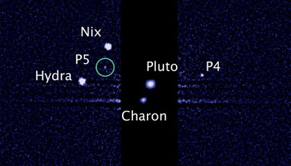 Astronomers Find Pluto's Fifth Moon
