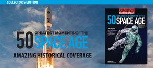 Preview thumbnail for video '50 Greatest Moments of the Space Age