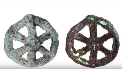 This 6,000-Year-Old Amulet Is an Ancient Metal Marvel