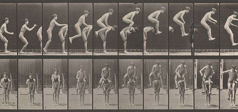 Eadweard Muybridge, Boys Playing Leapfrog