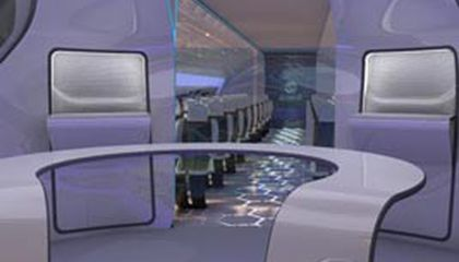 Air Travel 2050: Panoramic Views With a Wave of the Hand