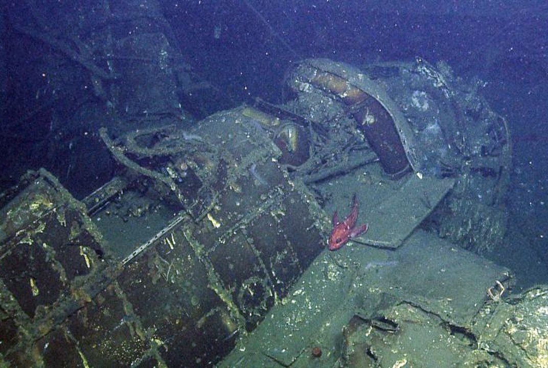 Underwater expedition finds sunken warship