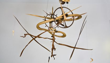 James Borden Doesn't Just Build Clocks, He Creates Sculptures that Tell Time