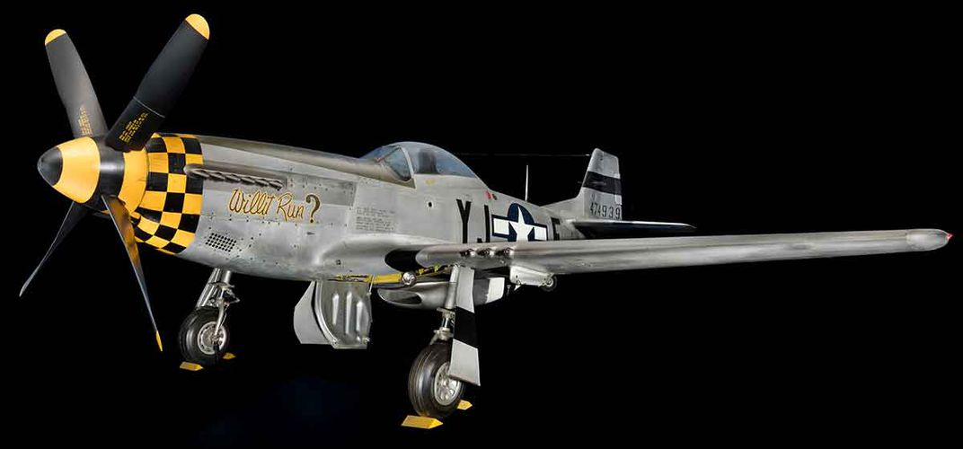 Caption: The Quintessential World War II Fighter