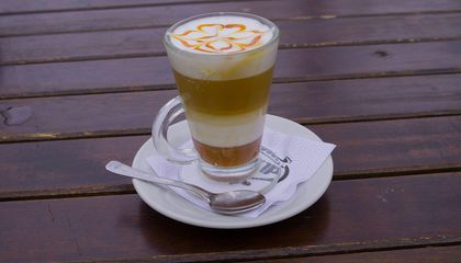 The Physics Behind the Layers in Your Latte