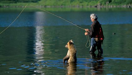 Charlie Russell, a Naturalist Who Lived Among Bears, Has Died at 76