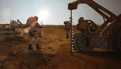 The Anthropocene Is Coming to Mars