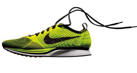 Nike's new Flyknit running shoe