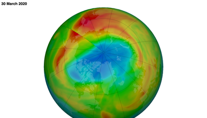 Why This Rare, Huge Ozone Hole Over the Arctic Is Puzzling Scientists